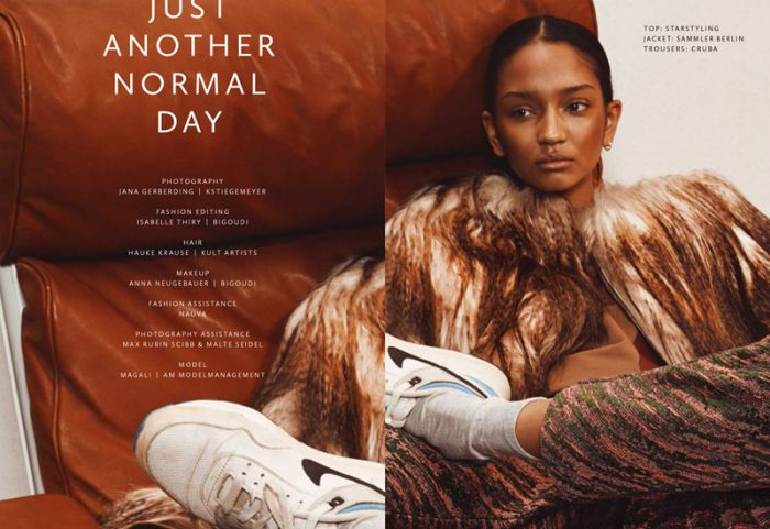 berlin mode magazine . jana gerberding